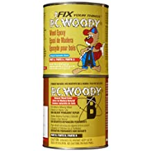 PC Products PC-Woody 2-Part Epoxy, 96-Ounce Can, Tan