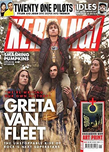 Kerrang! Magazine (October 13, 2018) Greta Van Fleet Cover