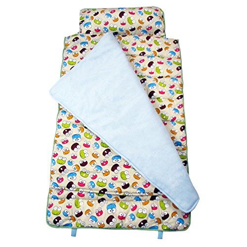Best SoHo Kids Extra Roomy Nap Mat, Love Froggies