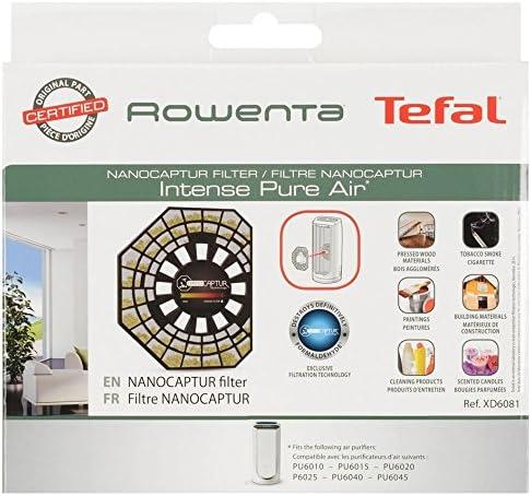 Rowenta XD6081 - Filtro Nano Captur XXL para Purificador PU6020 ...