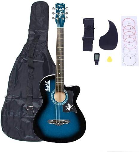 Basswood - Juego de cuerdas para guitarra (pantalla LCD), color ...