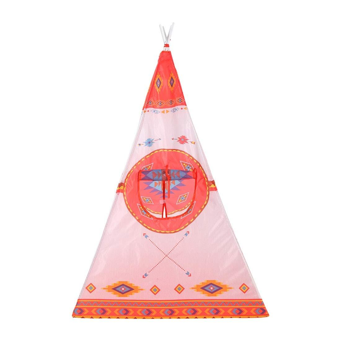 Xasclnis Kinderspielzelt Ethnic Style Amerika Europa und Amerika Style Baby Spielzeug Jurte Prinzessin Moskitonetz Game House (Größe   One Größe) 31bbf6