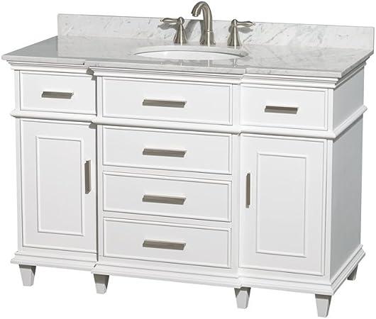 Wyndham Collection Berkeley 48 Inch Single Bathroom Vanity In