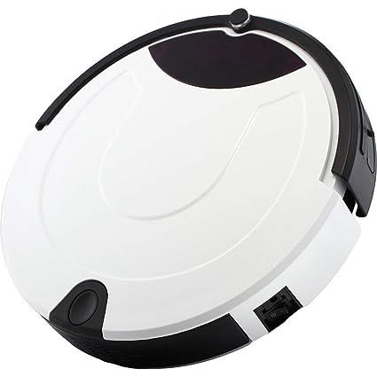 MLL Robot Aspirador Tener 4 Caminos De Limpieza Sonda Anticolisión Inteligente Anti-Caída Barrer La