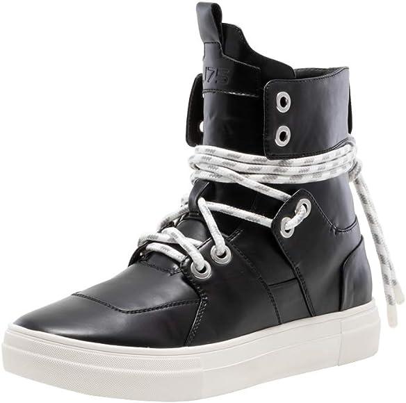 STRYDER Black High Top Sneaker