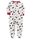 Best Scotty Blankets - Carter's Big Girls Footed Microfleece PJ's Sleeper Pajamas Review