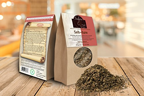 - Saafara herbal Teas, Seh-haw, 180 grams/130 Servings (Pack of 2), Kinkeliba Leaves.