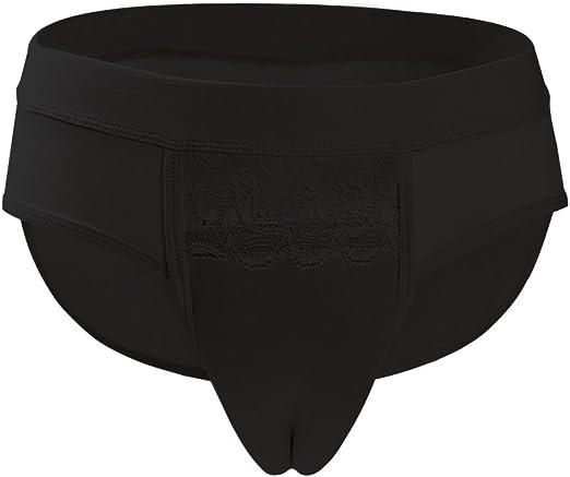 Men/'s Sissy Hiding Gaff Genital Panties Crossdresser Camel Toe Shaping Underwear