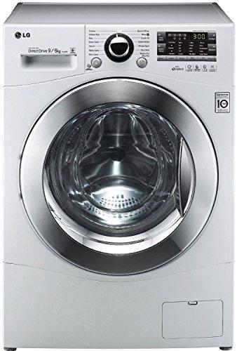 LG F14A8RD Waschtrockner / AA / Waschen: 9 kg / Trocknen: 6 kg / Startzeitvorwahl / Beladungserkennung  / Smart Diagnosis / weiß / Aqua Lock-Vollwasserschutzsystem