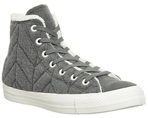 Converse Sneakers Uomo Stringate Stitch Hi Star Prem Warhol Fur Charcoal WSWRnc