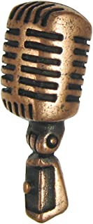 product image for Jim Clift Design Microphone Copper Lapel Pin