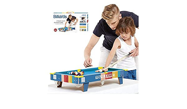 CX TECH Deluxe Pool Table Top Kids Mini Mesa de Billar Portable Billar de Escritorio Juego de Deportes de Interior Juguete Interactivo Regalo: Amazon.es: Deportes y aire libre