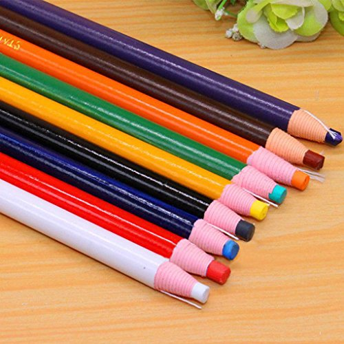 - Peel-off China Markers Grease Pencil Crayons 9 Pcs Asssorted Colors Crayon Sticks, Hand Painting Pen, Crayon Pencil, Paper Wrapped, No Sharpener Needed, Safe & Non-toxic, Great for Kids, Children