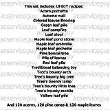 Autumn Maple Leaf Acorn Pine Cone DIY Recipes