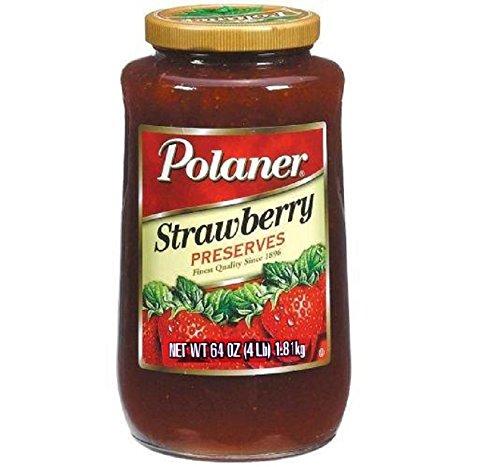 Polaner Strawberry Preserves, 64 Ounce