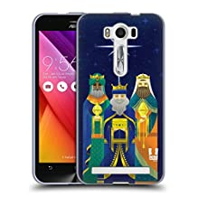 Head Case Designs Three Kings Christmas Nativity Soft Gel Case for Asus Zenfone 2 Laser ZE500KL