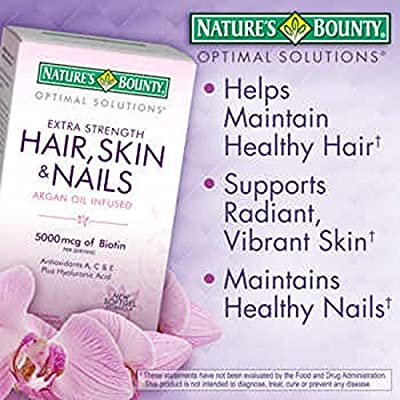 Nature's Bounty® Optimal Solutions® Hair Skin and Nails, 250 Softgels
