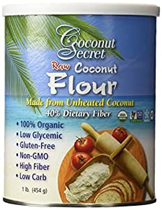 Coconut Secret -2 pk Coconut Flour, Gluten-Free, High Fiber, 16oz