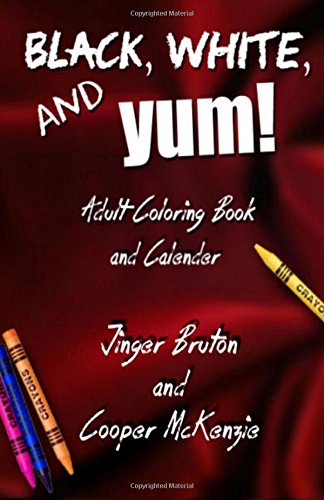 Read Online Black, White, and Yum!: 2016 Coloring Book and Calendar pdf