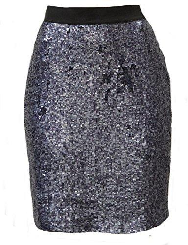 Iridescent Silk Skirt - 1