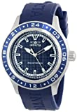 Invicta Men's 15224 Specialty Blue Textured Dial Blue Polyurethane Band Watch