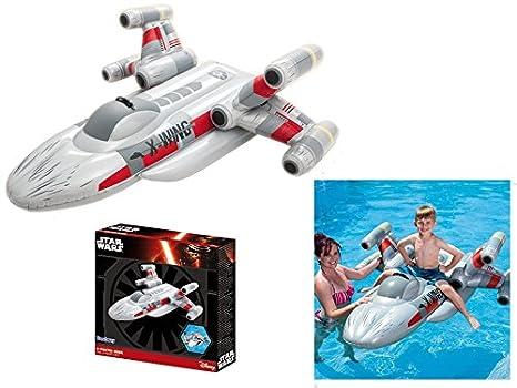 Star Wars X hinchable de Fighter, X-Wing Fighter Jet, colchón de aire: Amazon.es: Juguetes y juegos
