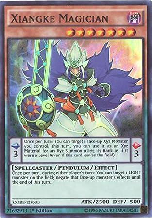 Super Rare Xiangke Magician Yugioh CORE-EN003