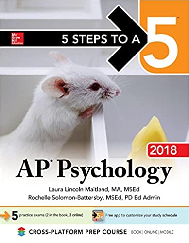 Amazon Com 5 Steps To A 5 Ap Psychology 2018 Edition Mcgraw Hill