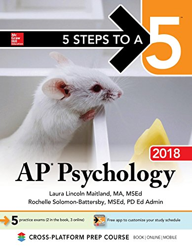 5 Steps to a 5: AP Psychology 2018 Edition (McGraw-Hill 5 Steps to A 5) cover