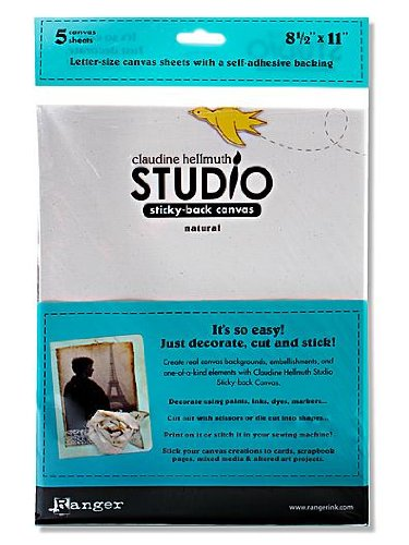 Claudine Hellmuth Studio - Ranger Claudine Hellmuth Studio Sticky-Back Canvas 8.5 in. x 11 in. white [PACK OF 2 ]