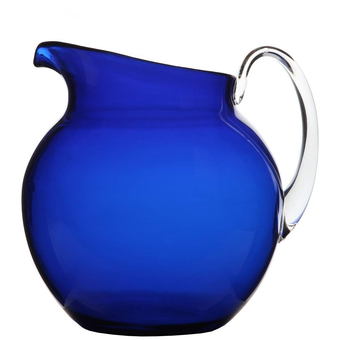 Lily's Home Shatterproof Plastic Pitcher, the Large Capacity Makes it Excellent for Parties, Both Indoor and Outdoor, Blue (110 Ounces) Lily's Home SW1091