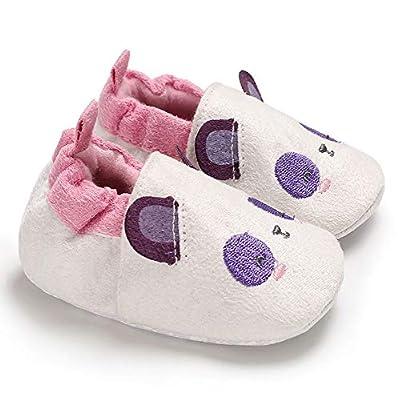 NUWFOR Baby Girl Soft Booties Snow Cartoon Animal Floor Shoes Prewalker Warm Shoes