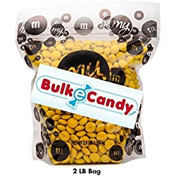 MY M&M'S Yellow M&M'S Bulk Candy Bag (2lb)