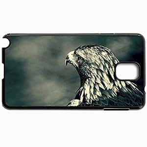 Fashion Unique Design Protective Cellphone Back Cover Case For Samsung GalaxyNote 3 Case Eagle Black
