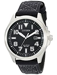 Citizen AW1410-08E Eco-Drive Men's Watch in Stainless Steel