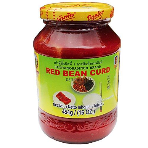 Pantai Tofu (Tofucreme) in roter Würzsauce Red Bean Curd 454g