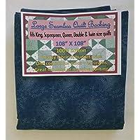 Quilt Backing, Large, Seamless, C47603-207, Dark Blue