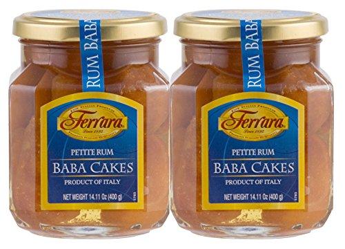 - Ferrara Petite Rum Baba Cake, Pack of 2