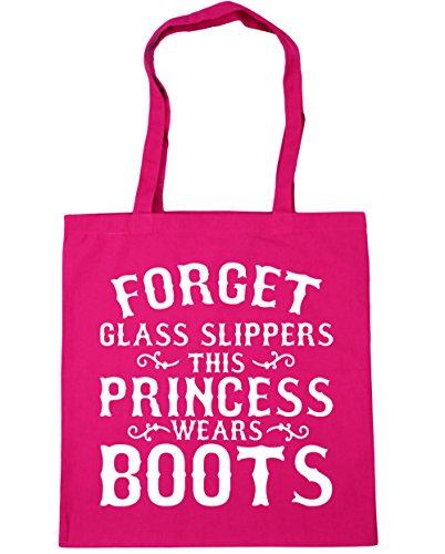 10 litres Beach boots 42cm Forget Gym x38cm Fuchsia glass Shopping princess HippoWarehouse this wears Tote slippers Bag 6Y7ZwvS