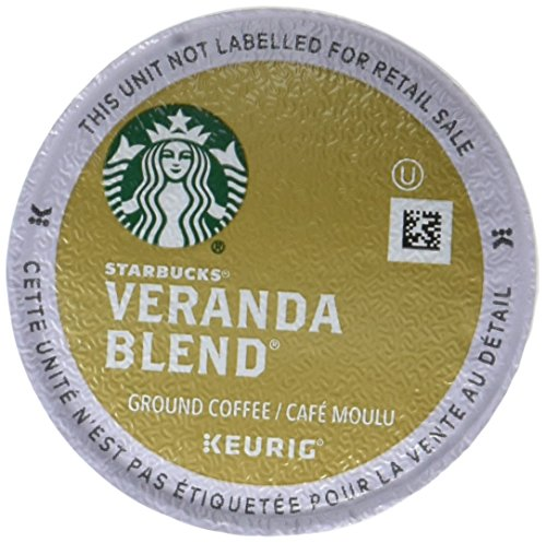 Starbucks Veranda Blend Blonde, K-Cup for Keurig Brewers,  24 Count