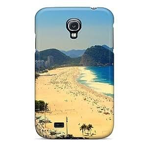 New Tpu Hard Case Premium Galaxy S4 Skin Case Cover(copacabana Beach Aerial View Of Rio De Janeiro Brazil)