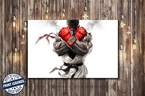Street Fighter Gaming Canvas Print Canvas Art Wall Art