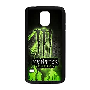 Monster Energy Pattern Plastic Hard Case For Samsung Galaxy S5 TPUKO-Q907290