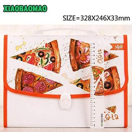 Carpeta de archivos, estilo de asa, para estudiantes, kawaii ...