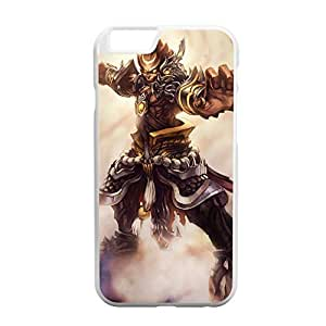 Wukong-002 League of Legends LoL case cover for Apple iPhone 6 - Plastic White