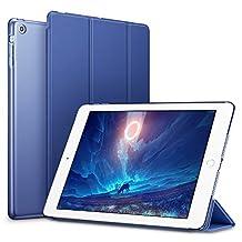 ESR iPad mini Case, iPad mini 2 Case, ESR iPad mini 3 Smart Stand Case with Auto Sleep/Wake Function and Translucent Back for Apple iPad mini 1/iPad mini 2/iPad mini 3 (Navy Blue)