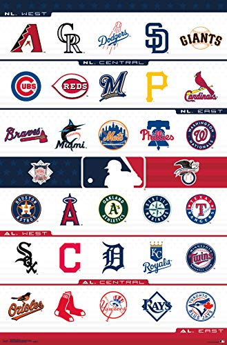 Trends International MLB - Logos Wall Poster 22.375