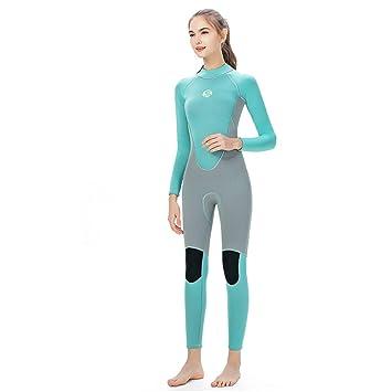 DUBAOBAO Neopreno de Mujer de 3MM, Equipo de natación para ...