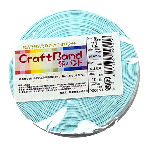 Paper band of 12 x10m soda ice HT72-1 (japan import)