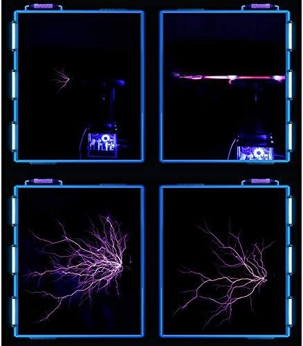 VIEUR Musica Bobina di Tesla Stato Solido Audio Giocattoli Fisica DIY Jammer Drsstc Fulmine Simulazione Esperimento